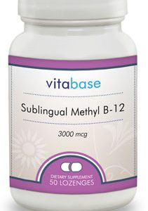 Sublingual Methyl B-12 (3000 mcg)